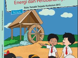 Pusbuk Tematik Kelas 3 Tema 6 – Energi dan Perubahanya CV. Grafika Dua Tujuh