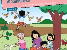 Pusbuk Tematik Kelas 1 Tema 7 – Benda, Hewan dan Tanaman di Sekitarku CV. Grafika Dua Tujuh