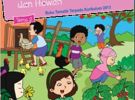 Pusbuk Tematik Kelas 3 Tema 2 – Menyayangi Tumbuhan dan Hewan CV. Grafika Dua Tujuh