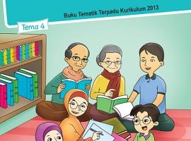 Pusbuk Tematik Kelas 1 Tema 4 – Keluargaku CV. Grafika Dua Tujuh