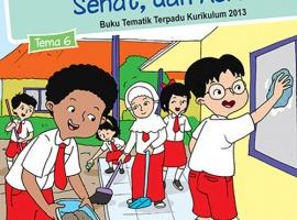 Pusbuk Tematik Kelas 1 Tema 6 – Lingkungan Bersih, Sehat dan Asri CV. Grafika Dua Tujuh