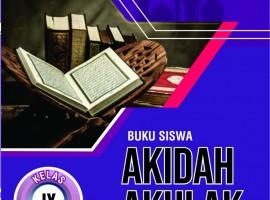 Buku Siswa Akidah Akhlak 9 CV. Grafika Dua Tujuh